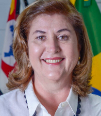 Secretária de Assistência Social - Ilma. Sra. Vitoria de Lourdes Toledo Saretta de Oliveira