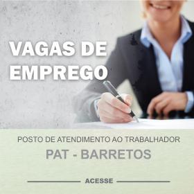 Vagas de Emprego - PAT Barretos